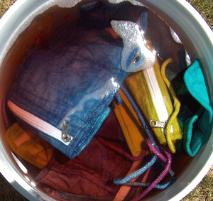 dyed purses