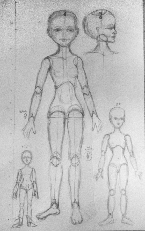 doll-sketches